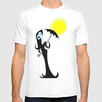 Cast No Shadow Mens Fitted Tee White SMALL