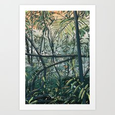 Undergrowth Art Print