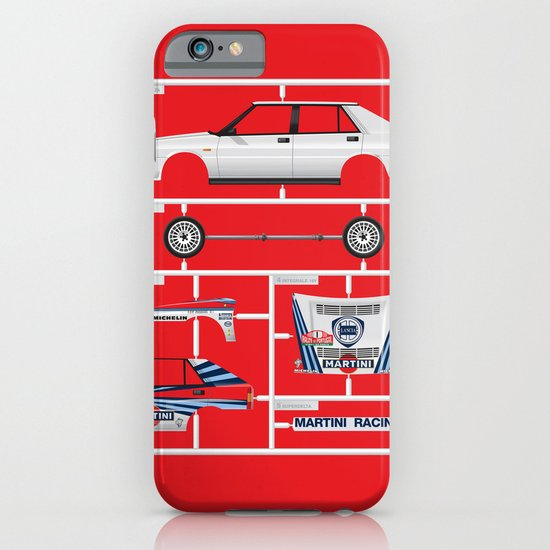 Lancia Delta History Model Kit in the WRC iPhone & iPod Case