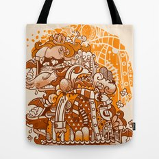 Ginger Monsterous Tote Bag