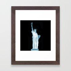 Land of the Free? Framed Art Print