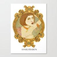 Smoked Fish (Anniestrati… Canvas Print