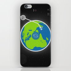 Music Makes The World Go Round iPhone & iPod Skin