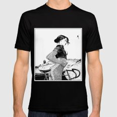 asc 654 - L'ascension du Mont Ventoux (The velociraptor revealed) Mens Fitted Tee SMALL Black