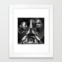 Watch the Throne Framed Art Print