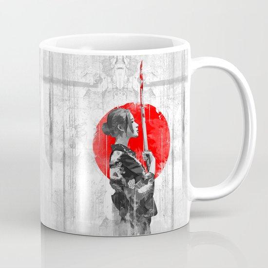 Samurai Girl Mug