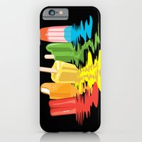 iPhone Cases featuring Summer of Melted Dreams by Rachel Caldwell
