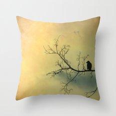 Solitude Mood Throw Pillow