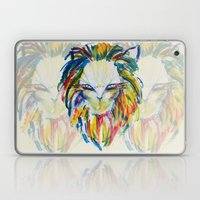 rainbow lion Laptop & iPad Skin