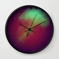 Jelly Pixel Wall Clock