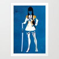 Satsuki Kiryuin Art Print