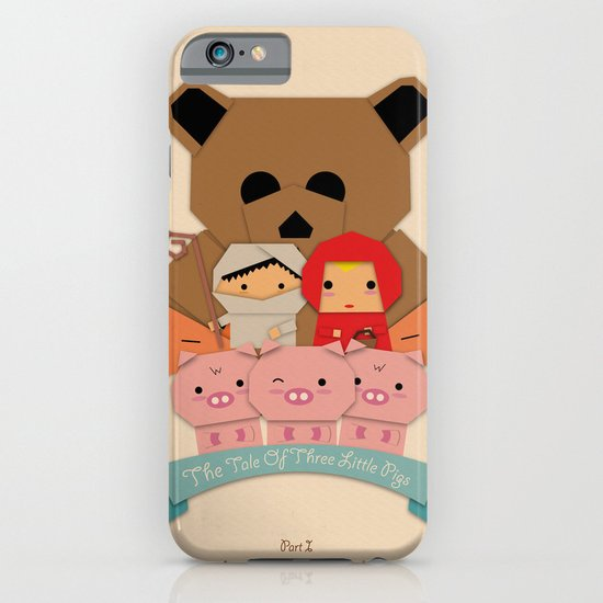 3 little pigs iPhone & iPod Case