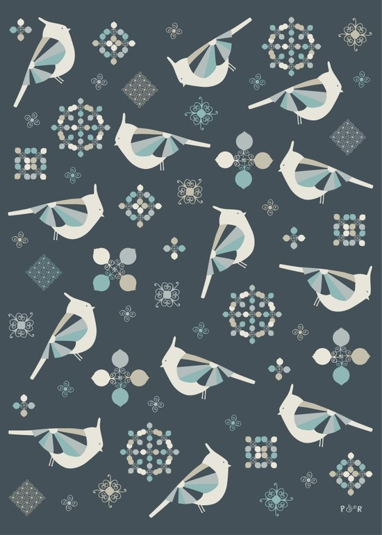 Petit Birds Art Print