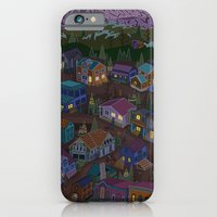iPhone & iPod Case featuring A Town on the Edge of Adventure by Valeriya Volkova