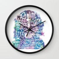 Lennon Reality Wall Clock