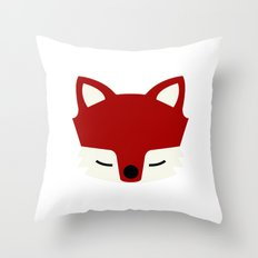 That Sly Fox  Throw Pillow