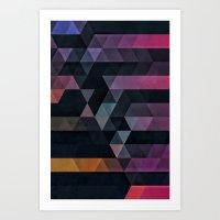 Ypsyde Dwwnsyde Art Print
