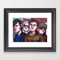 Outsiders Framed Art Print