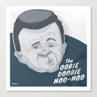 The Oobie-Doobie Moo Moo Canvas Print