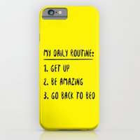 My Daily Routine iPhone 6 Slim Case