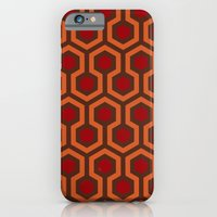 iPhone & iPod Case featuring The Shining Carpet by Justin Cybulski