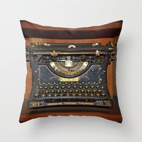 Typewriter2 Throw Pillow