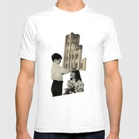 Crown Mens Fitted Tee White SMALL