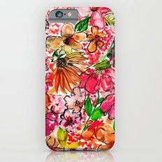 Wildflower Red Slim Case iPhone 6s
