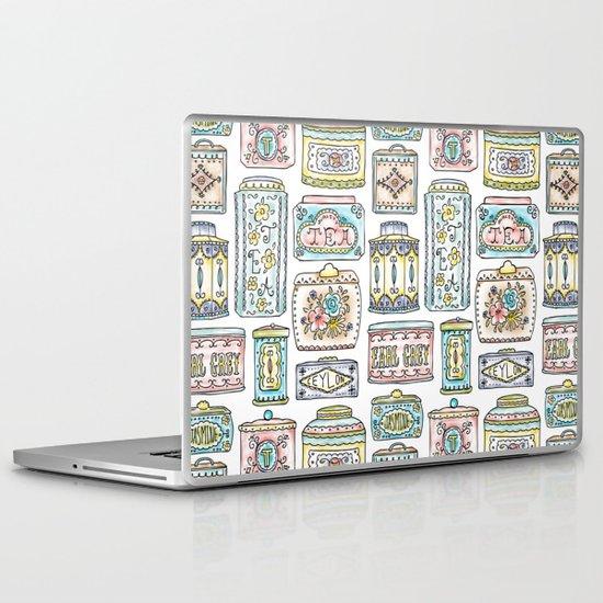 Tea Tins Laptop & iPad Skin