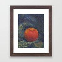 The Opulent Apple Framed Art Print