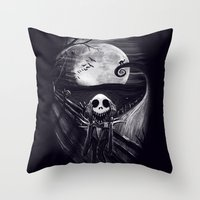 The Scream Before Christ… Throw Pillow