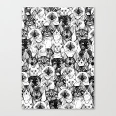 Just Cats Canvas Print