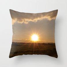 Light on my deepest dark Throw Pillow