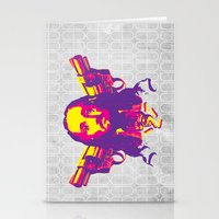 Speed Demon Stationery Cards