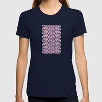 There Are 80 Windows We … Womens Fitted Tee Navy SMALL