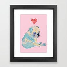Bulle Framed Art Print