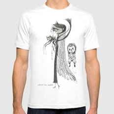 welcome home annabelle Mens Fitted Tee White SMALL
