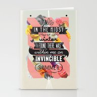 The Invincible Summer Stationery Cards