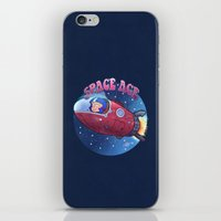 Space Ace iPhone & iPod Skin