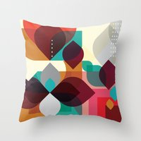 Geometric Abstraction Throw Pillow