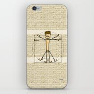 Vitruvius iPhone & iPod Skin