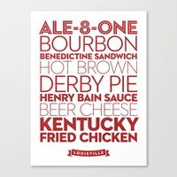 Louisville —Deliciou… Canvas Print