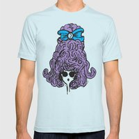 Bow Peep Mens Fitted Tee Light Blue SMALL