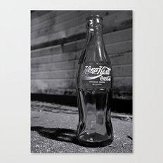 Bulgarian Coke bottle Canvas Print
