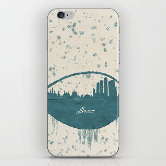 Frozen Moscow iPhone & iPod Skin