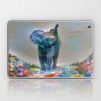 Elephant in my garden 2 Laptop & iPad Skin