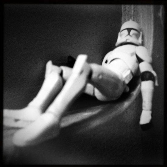 Death Star Construction - Day 1138 Art Print