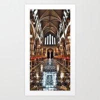 Christ Church Cathedral HDR Dublin Art Print