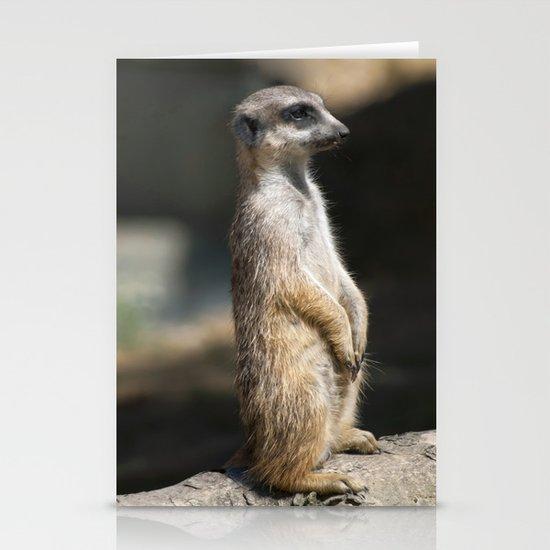 Meerkat Stationery Card