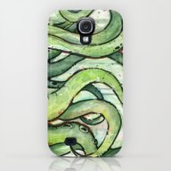 Cthulhu Green Tentacles Galaxy S4 Slim Case